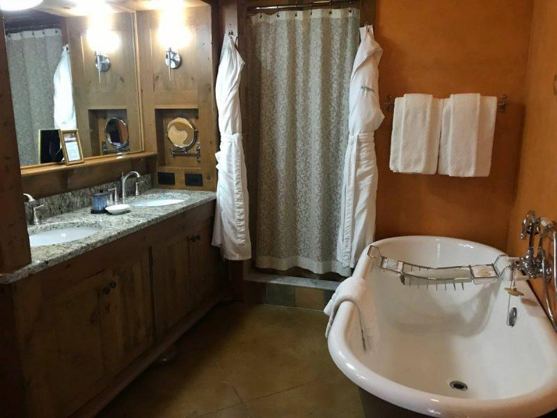Bathtub and Walk-In Shower