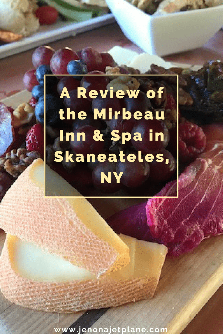 The Mirbeau Inn and Spa in Skaneateles, NY is the perfect place to have a French escape. Featuring a full-service spa, luxury accommodations and gardens modeled after Monet's Giverny, this is the perfect place to treat yourself or celebrate a special occasion. #luxuryhotels #hotelreview #upstatenewyork #iloveny