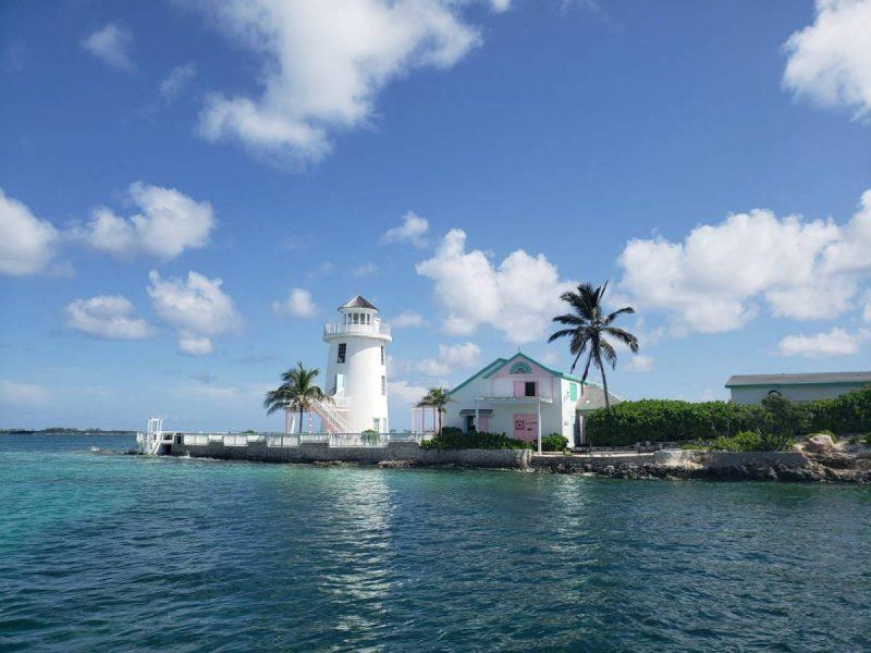 Pearl Island in Nassau, Bahamas