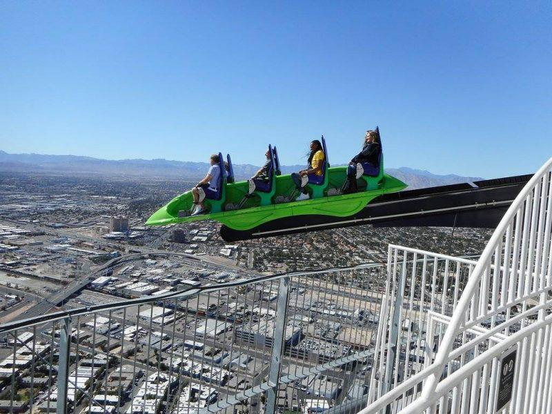 Stratosphere X-Scream Ride
