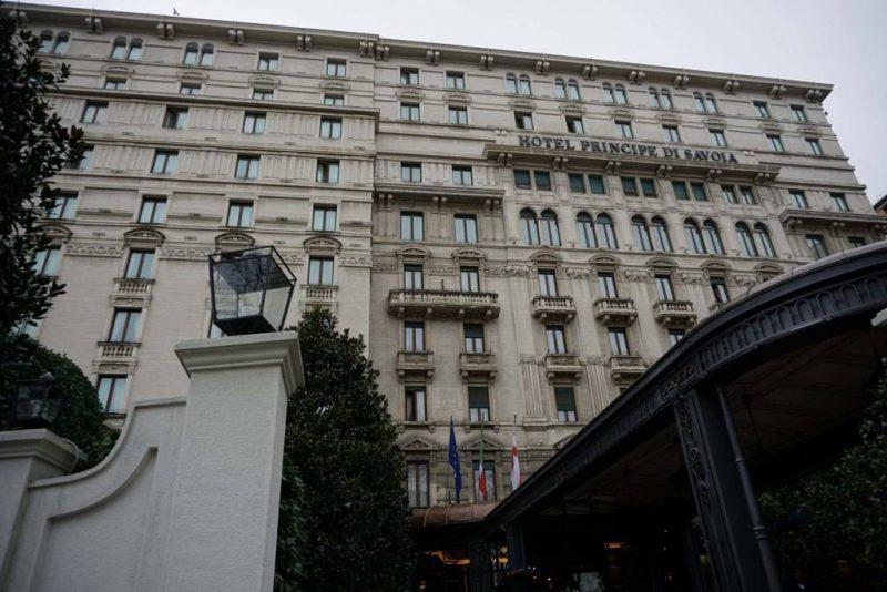 Facade of Hotel Principe