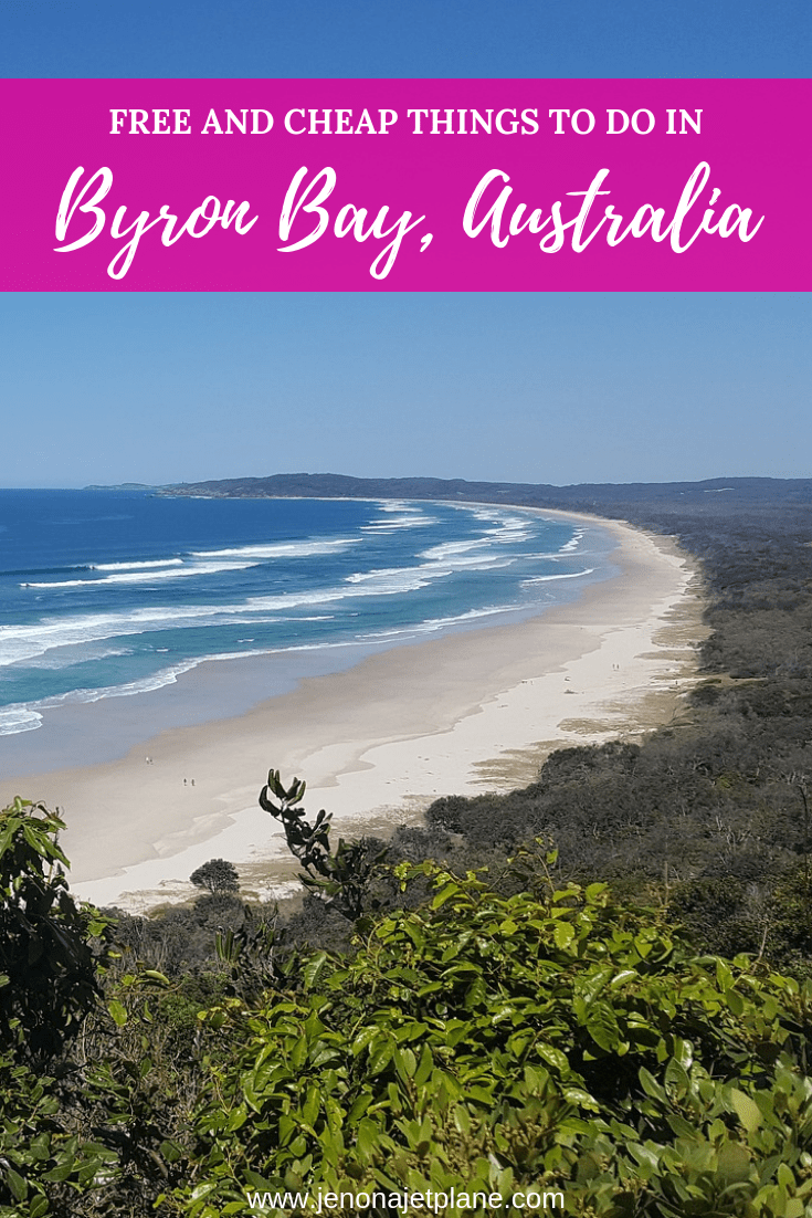 Looking for the best things to do in Byron Bay, Australia? These activities will keep you entertained without breaking the bank. Check out these ways to enjoy Byron Bay on a budget. Pin to your travel board for future reference. #australia #budgettravel #thingstodo #byronbay