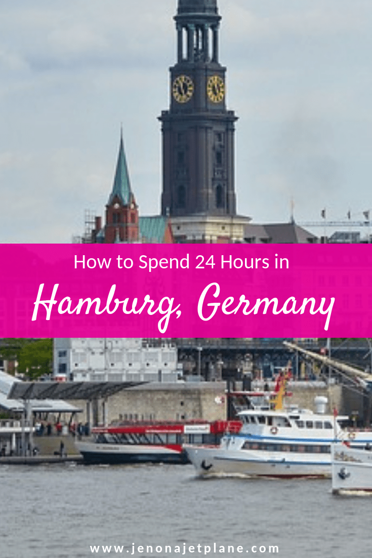 Looking for the best things to do when you only have 24 hours in Hamburg, Germany? Here's how to make the most of a short visit. #Hamburg #Germany #europetravel #travelitinerary #TravelGermany