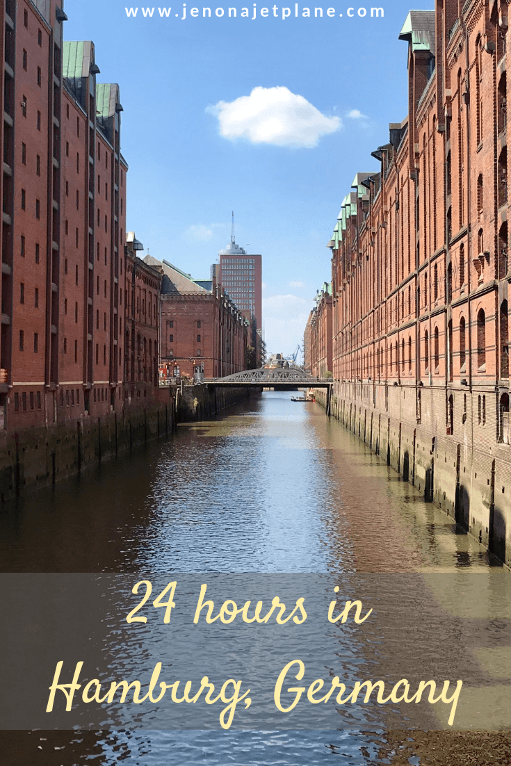 Looking for the best things to do when you only have 24 hours in Hamburg, Germany? Here's how to make the most of a short visit. #Hamburg #Germany #europetravel #travelitinerary #TravelGermany #travelblogger