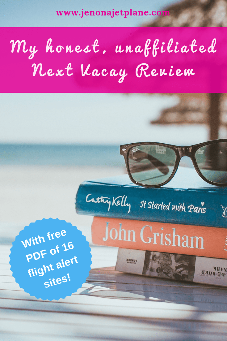 I tried Next Vacay's subscription service for 30 days and can compare it to other flight alert websites and apps. Here's my honest and unaffiliated Next Vacay review. #nextvacay #flightalerts #cheapflights #budgettravel #traveltips #nextvacayreview