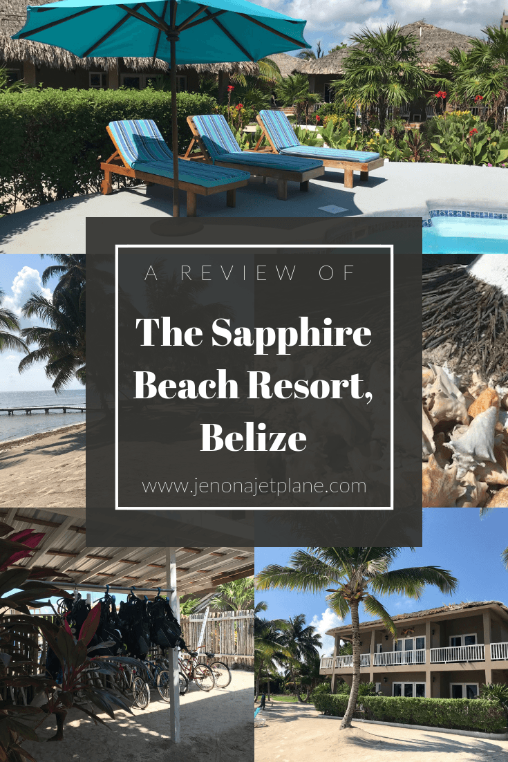 Looking for a secluded beach resort where you can get away from it all? Look no further than the Sapphire Beach Resort in Ambergris Caye Belize, perfect for honeymooners. #belize #luxurytravel #centralamerica #romanticdestination