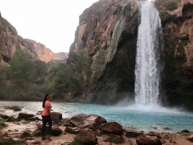 Havasu Falls in the morning