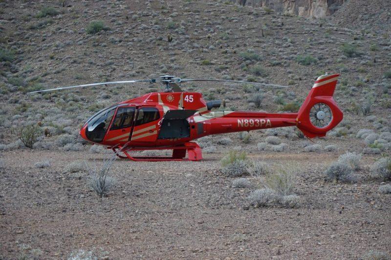 Havasu Falls Helicopter