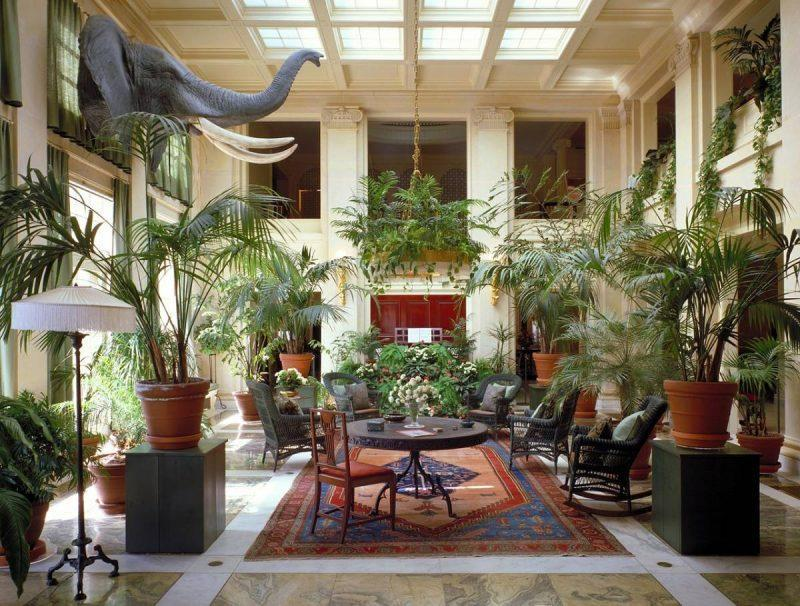 Lobby at the Eastman House Rochester