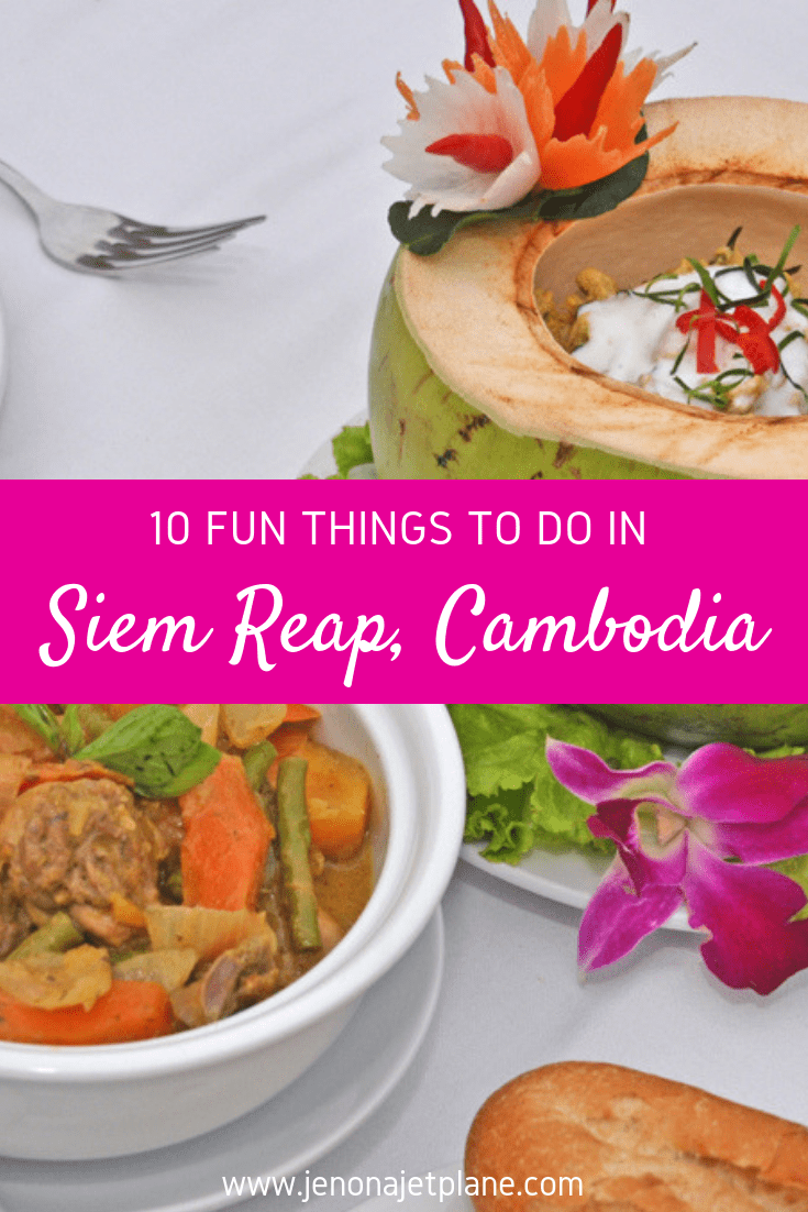 Looking for the best things to do in Siem Reap, Cambodia besides temple hopping? From chasing waterfalls to exploring the night markets, these are my top picks. Pin to your travel board for future reference. #siemreap #siemreapcambodia #siemreapcambodiathingstodo #cambodiatravel #travelsiemreap #travelcambodia