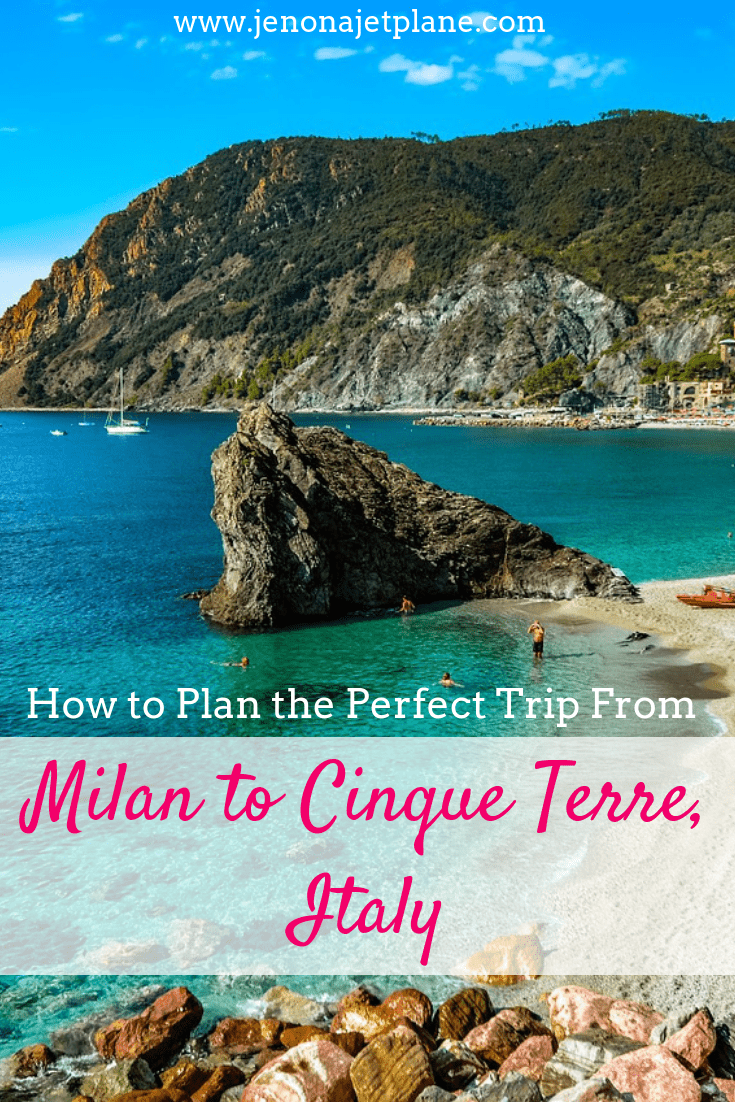 It's easy to plan a trip from Milan to Cinque Terre. Here's everything you need to know to visit Italy's most scenic coastal towns, from train routes to the best time of year to visit. Save to your travel board for future reference. #cinqueterre #cinqueterreitaly #cinqueterreitalythingstodo #milantocinqueterre #italytravel #italyvacation