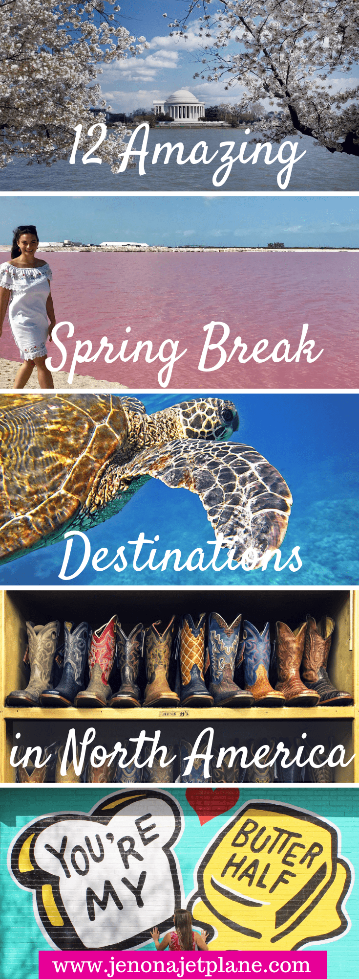 12 Warm Spring Break Destinations in North America - Jen on a Jet Plane