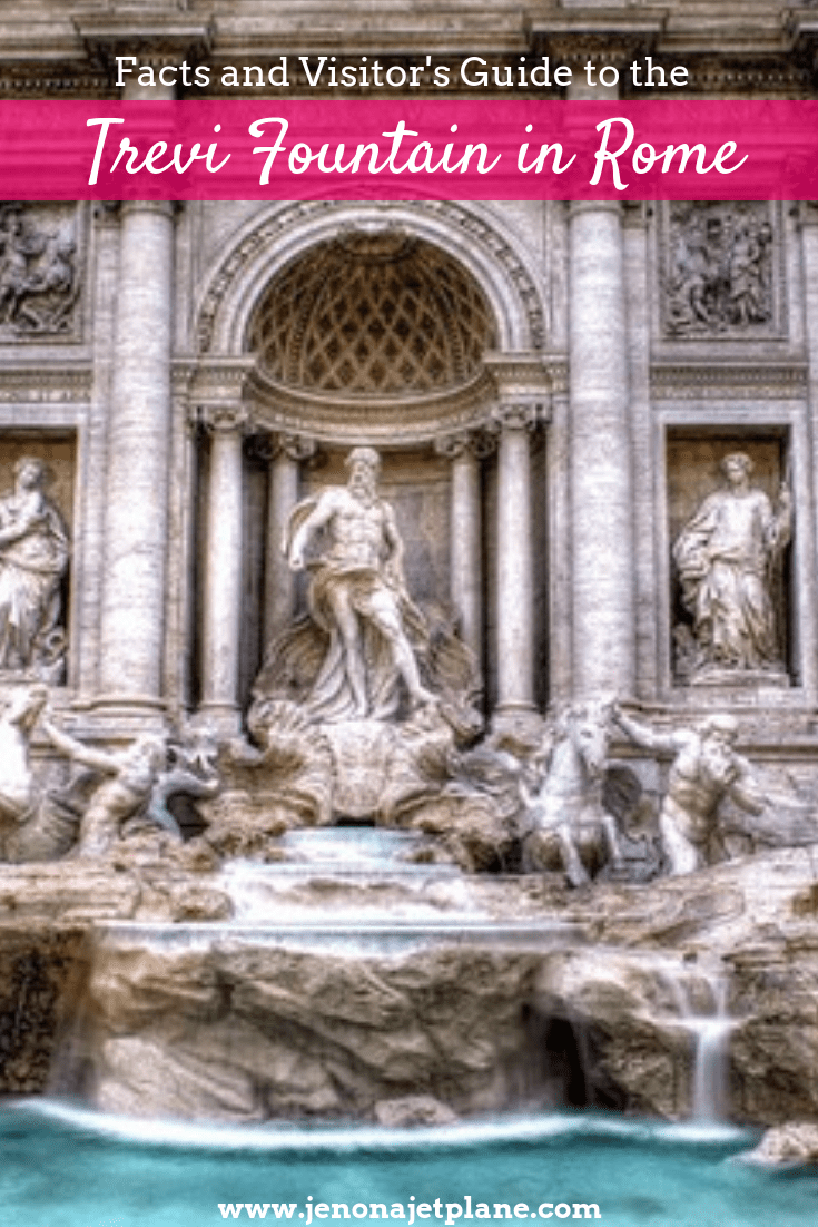 Want to know more about the Trevi Fountain, like where to find it and the best time of day to visit? Here's your ultimate visitor's guide to one of Rome's most famous attractions. Save to your Italy travel board for future reference. #trevifountain #trevifountainpictures #romeitalythingstodo #italyart #italytravel #italytraveltips
