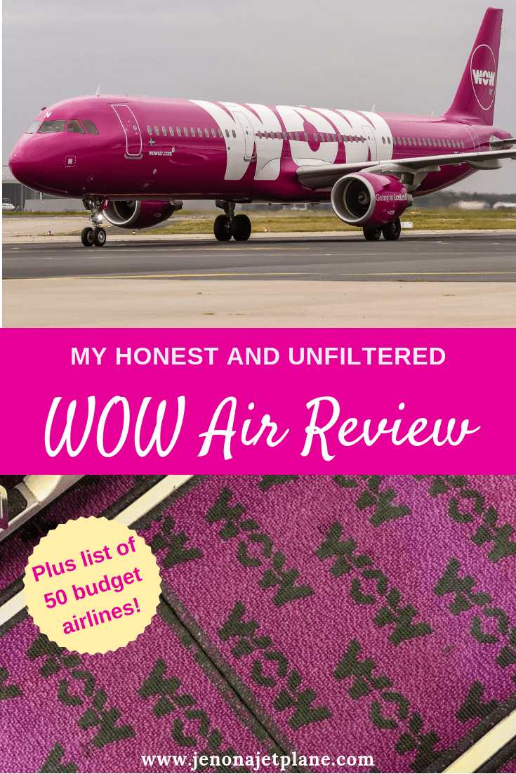 The Real Price of Flying Cheap: My WOW Air Review - Jen on a