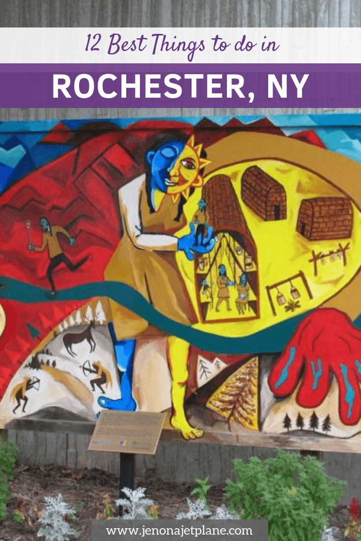 Looking for the best things to do in Rochester, NY? From attending the largest lilac festival in North America to the best street art in the city, here are the sites and attractions you can't miss! #rochesterny #rochesternewyork #thingstodoinrochester #thingstodoinrochesterny #rochesterthingstodoin #upstatenewyork #newyorkstatetravel #iloveny