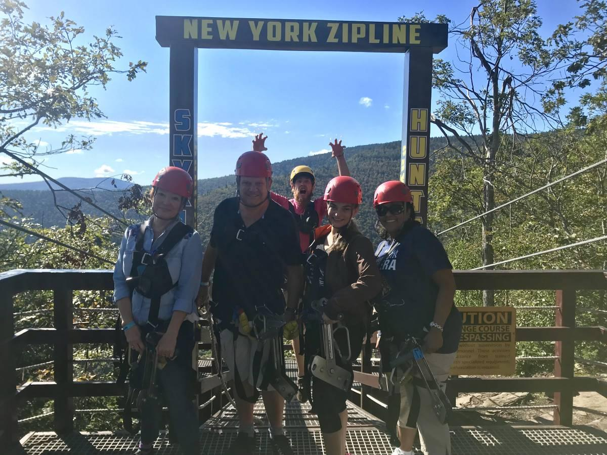 Group ready to launch at New York Zipline