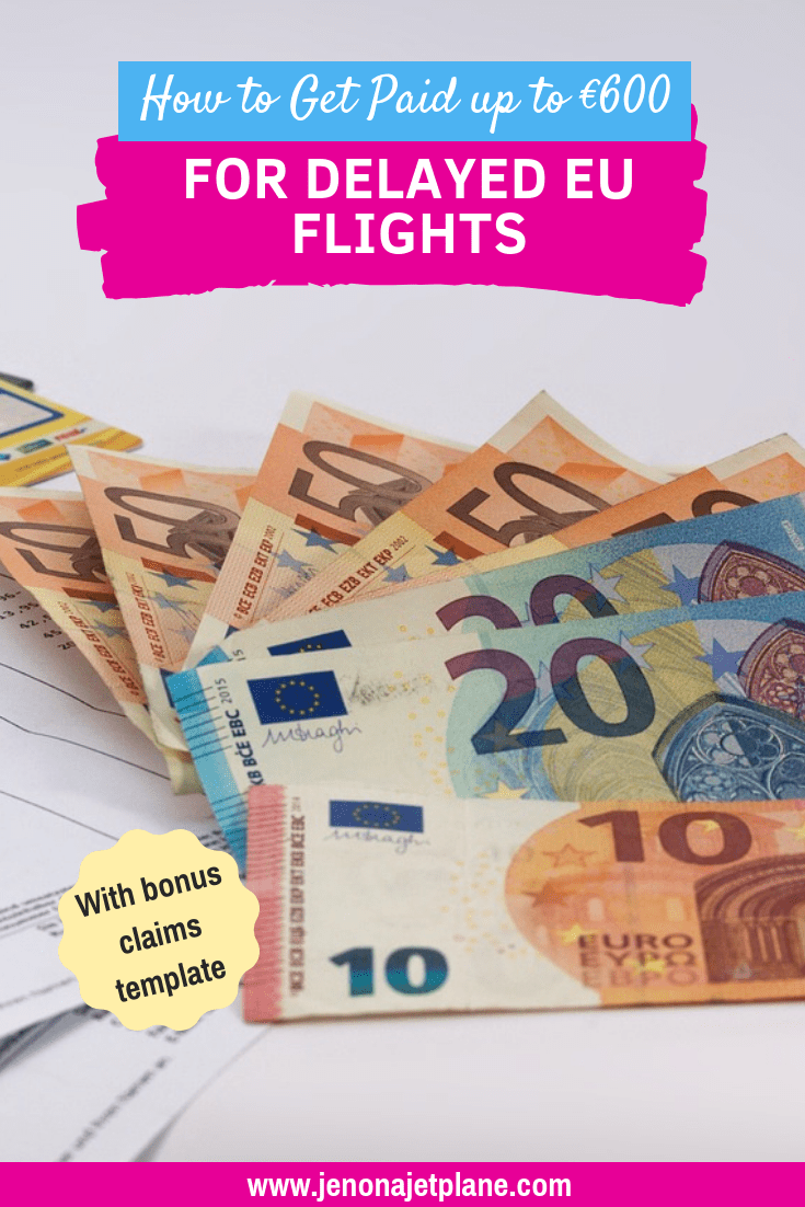 Did you know you're entitled to up to €600 in compensation for flight delays going in and out of Europe? Here's what you need to know to claim your money. #flightdelaycompensation #traveltips #airlinetraveltips