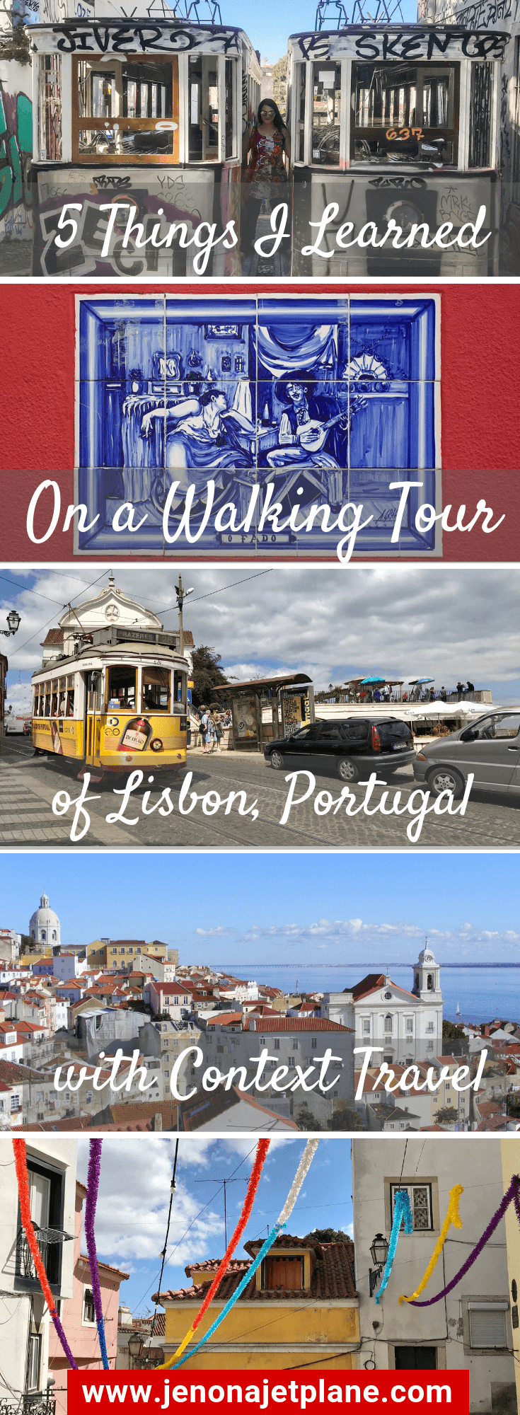 Want to take a Lisbon walking tour? I recommend going with Context Travel to experience the city like a local. Save to your travel board for inspiration. #lisbonportugal #lisbonwalkingtour #lisbontravel #contexttravel