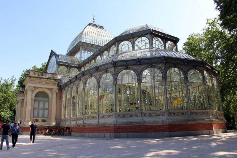 Crystal Palace in the park