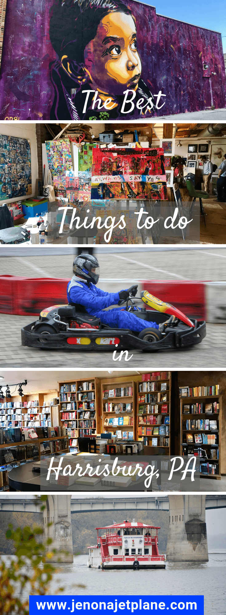 Want to know the best things to do in Harrisburg, PA? From chocolate to caverns, here are 12 activities you can't miss! Save to your travel board for inspiration. #harrisburgpa #pennsylvaniatravel