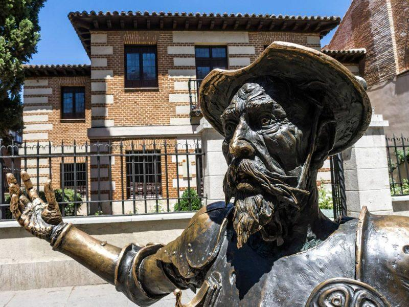 Statue of Cervantes