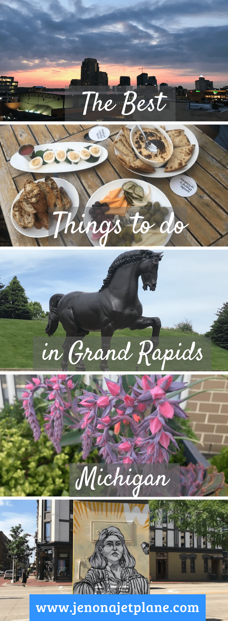 Looking for the best things to do in Grand Rapids, Michigan? From rooftop bars to street art finds, here 12 activities you can't miss! #grandrapidsMI #michigantravel #experiencegrandrapids #thingstodograndrapids
