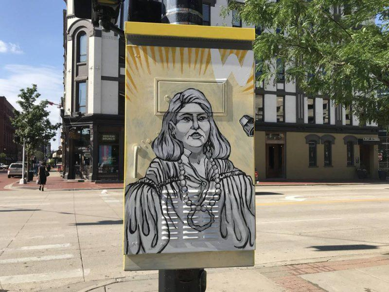 Street Art Rad Women Grand Rapids