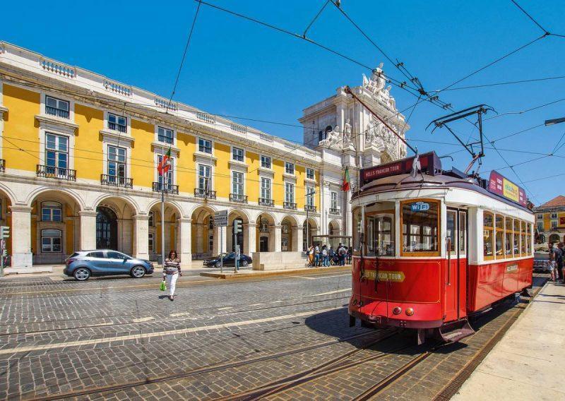 Train in Lisbon