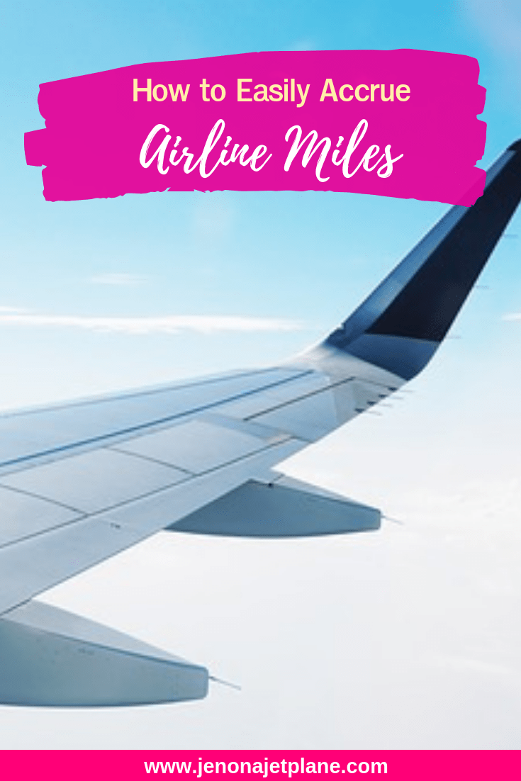 Want to fly for free? Airline miles can get you there. Here are 7 ways to accrue bulk miles, with or without credit! #travelhacking #awardtravel #airlinemiles #travelhacks