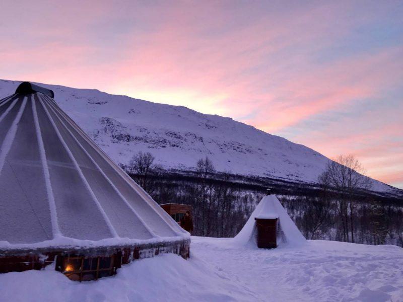 Sami Lavvu tent