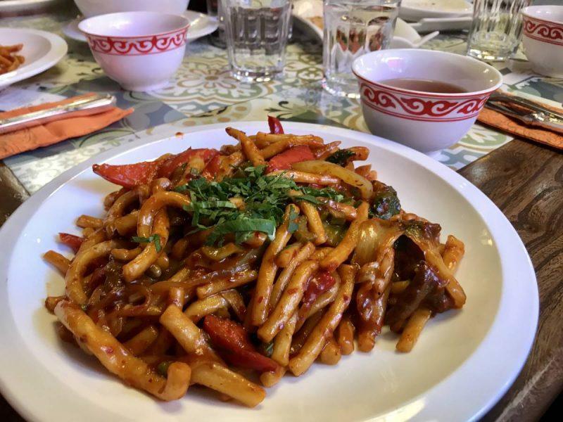 Lagman noodles