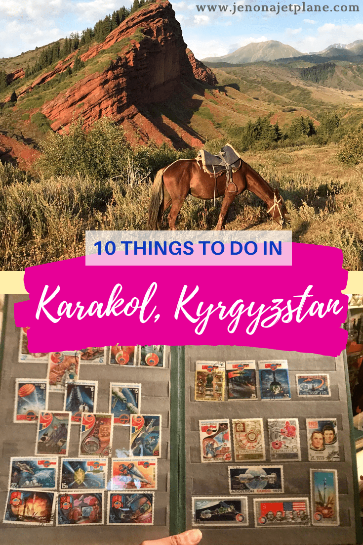 Karakol has long been a stopover city for backpackers but in recent years has blossomed into a destination in its own right. From Soviet antique shops to tasting ashlan-fu, here are the 10 best things to do on a future visit! #kyrgyzstan #kyrgyzstantravel #kyrgyzstanfood #centralasiatravel