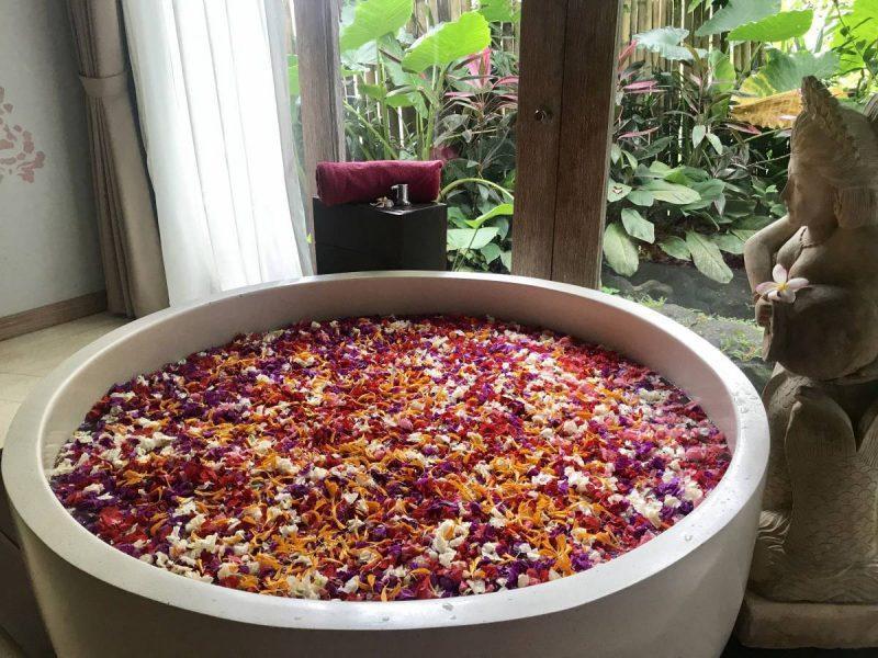 Best Flower Bath in Bali