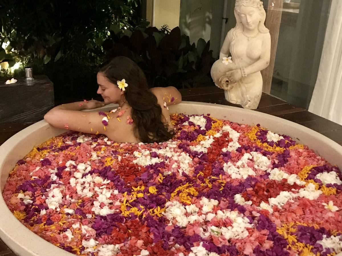 The Best Flower Bath in Bali: A Review of the Udaya Resort and Spa
