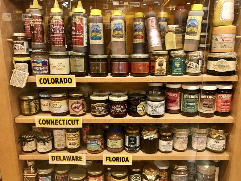 Collection of mustard from around the world