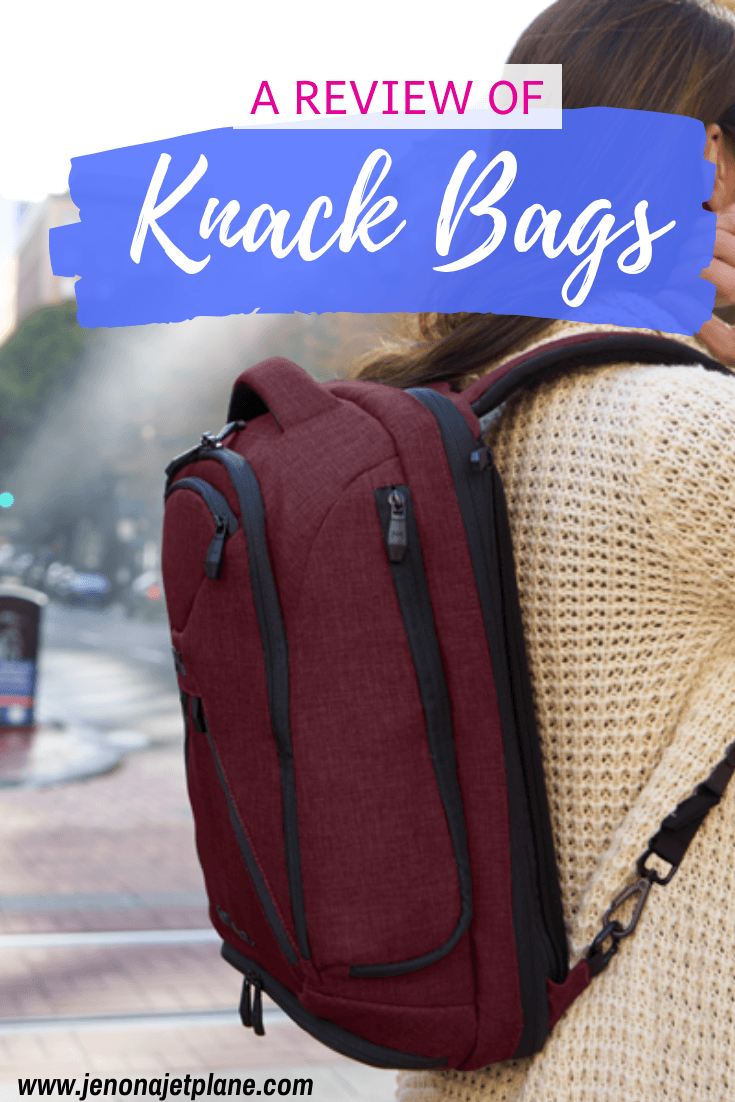 "Looking for the best carry-on bag for business travel? Now you too can live the ""One Bag Life"" thanks to Knack Bags! #carryon #luggage #traveltips #travelgear #carryonluggage"