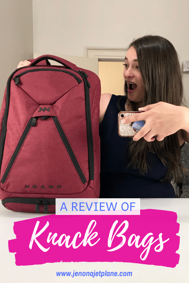 """Looking for the best carry-on bag for business travel? Now you too can live the""""One Bag Life"""" thanks to Knack Bags! #carryon #luggage #traveltips #travelgear #carryonluggage"""