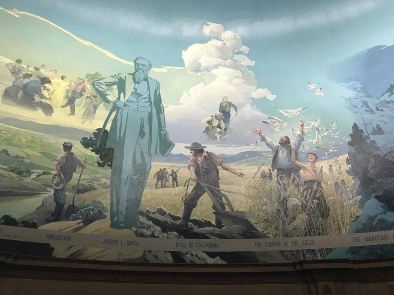 Mormon mural