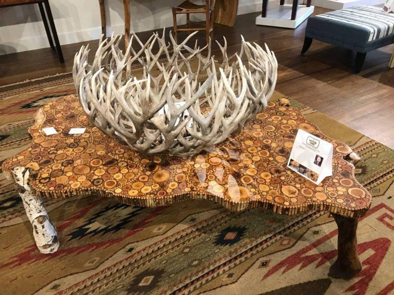 Ornate western style table