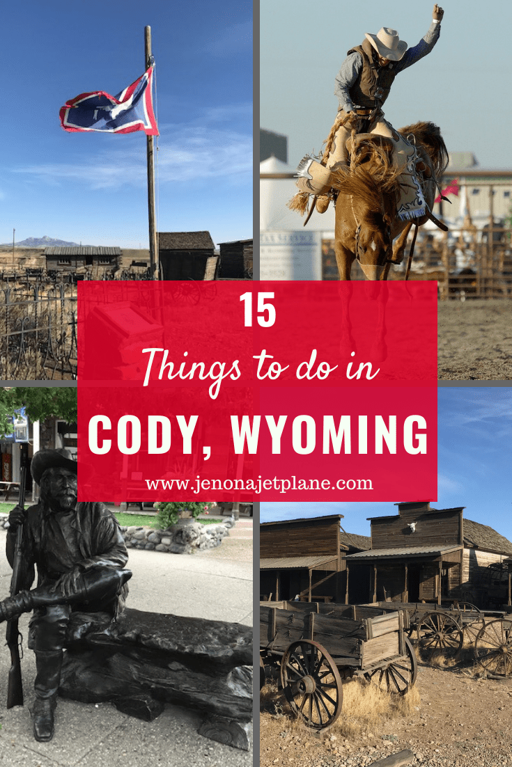 Are you a fan of the Wild West? If so, don't miss a visit to Cody, Wyoming, the town named after Buffalo Bill! Here's 15 of the best things to do in Cody, WY. #codywyoming #codywy #wyomingtravel #travelwyoming