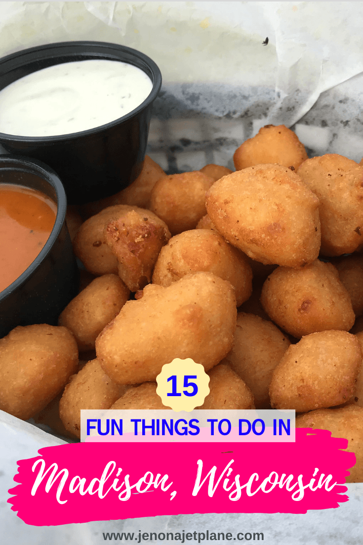 Looking for fun things to do in Madison, Wisconsin? From a Frank Lloyd Wright Trail to the best cheese curds in the state, these are the 15 best things to do in Madison for first-time visitors! #Madison #madisonwi #madisonwisconsin #traveltips #thingstodoinmadison