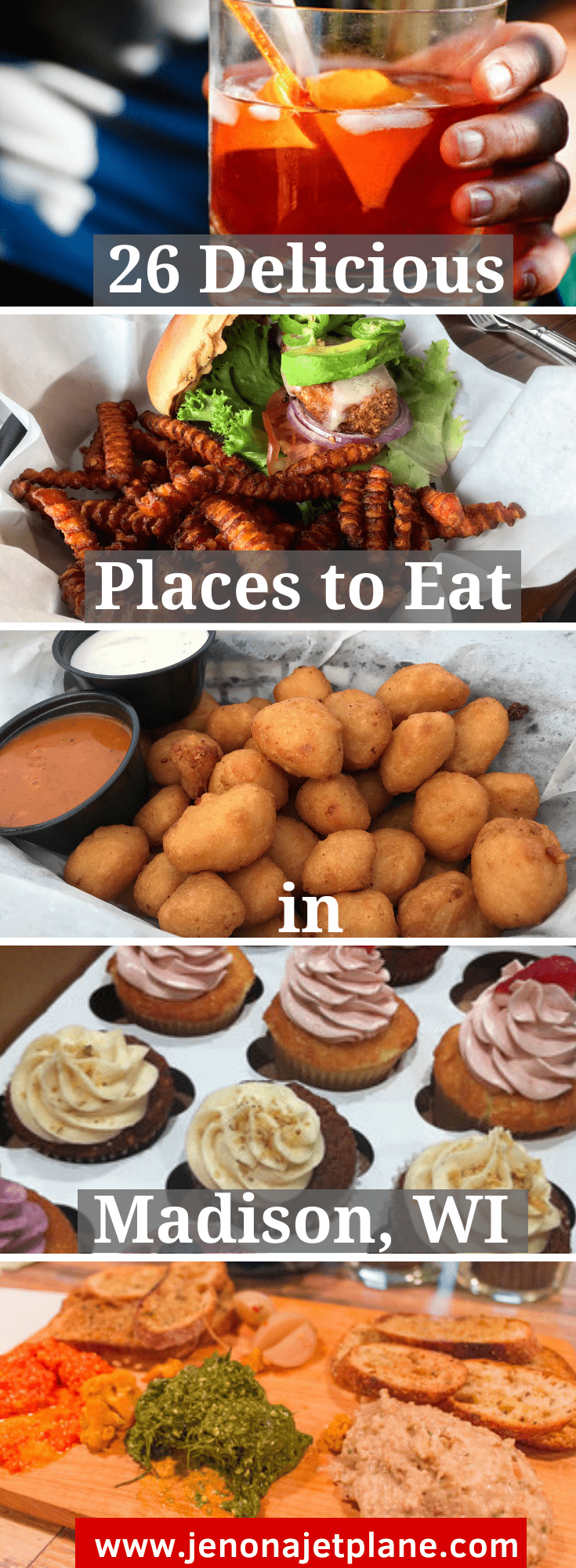 Looking for the best places to eat in Madison, Wisconsin? Whether you're going out for brunch or a fancy dinner, these tasty options will hit the spot!
