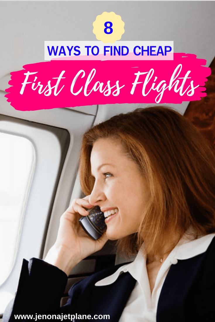 Want to know how to find cheap first class flights? These tips will help you travel in luxury without breaking the bank. Here's 8 ways to find cheap first class airline tickets! #budgettravel #cheapflights #travelhacking #firstclassflight #firstclasstravel