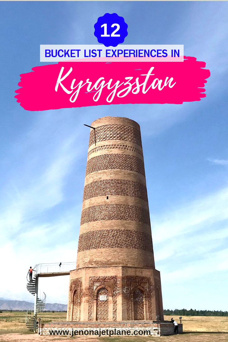 Looking for the best things to do in Kyrgyzstan? From holding an eagle to feating with a Dungan family, make sure to cross these items off your bucket list! #kyrgyzstan #kyrgyzstantravel #centralasia #travelcentralasia #bucketlisttravel