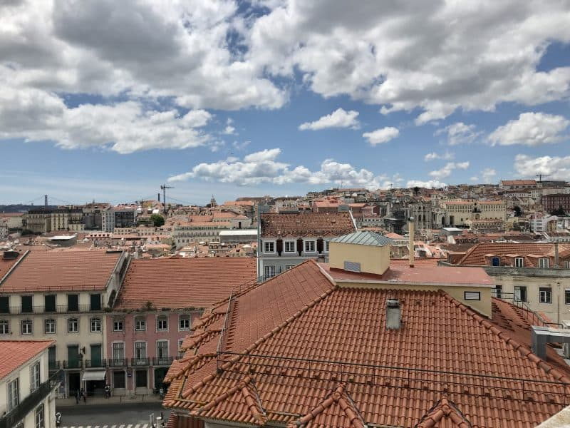 View over Lisbon's rooftops