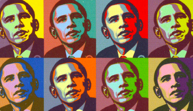 Portraits of Obama