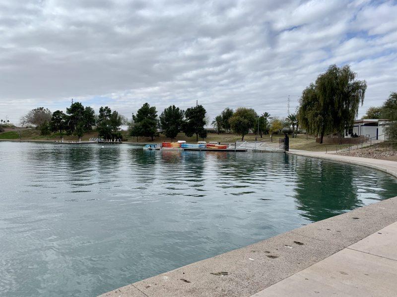 Kiwanis Park lake in Tempe