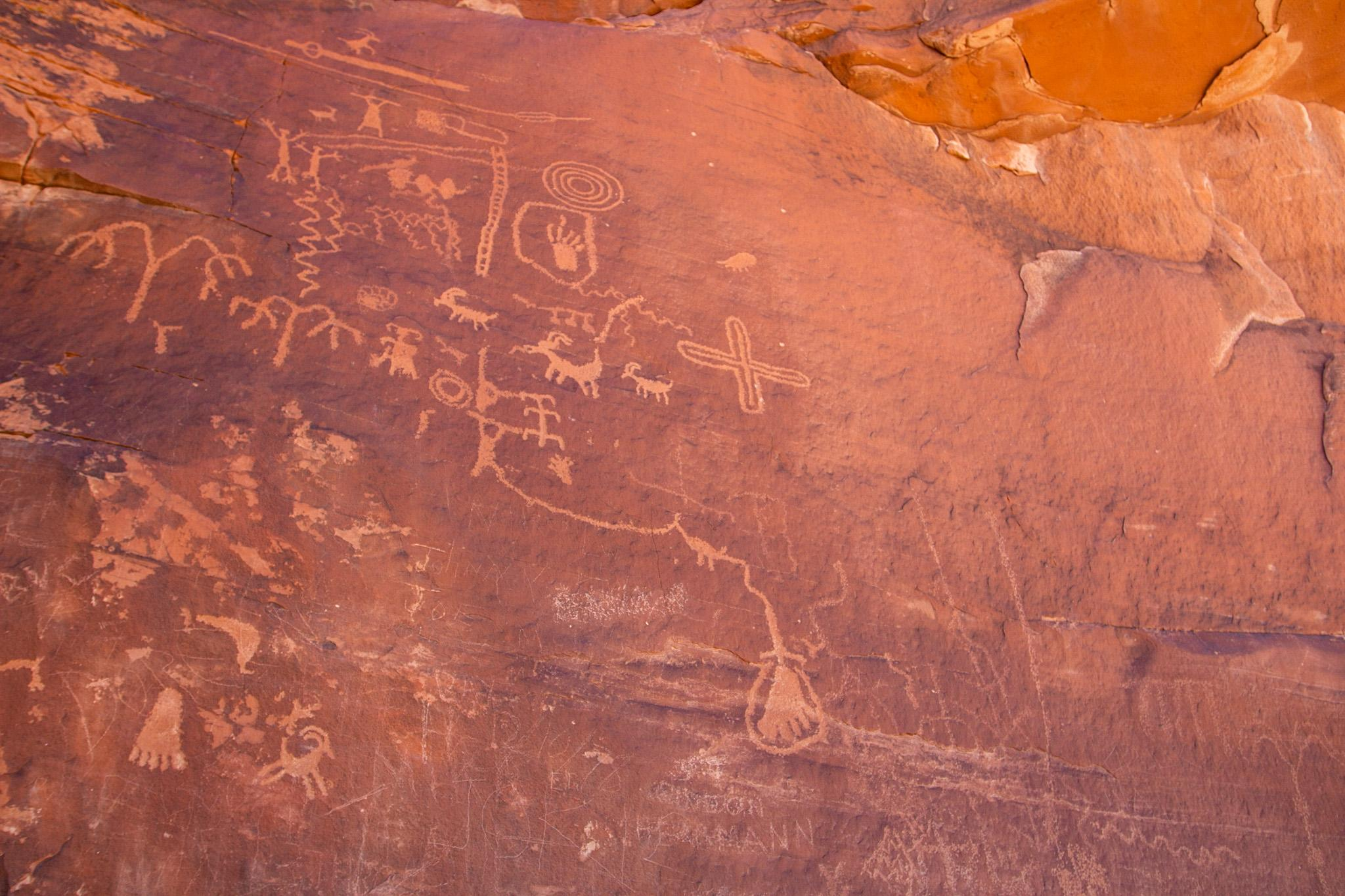 indigenous carvings on stone