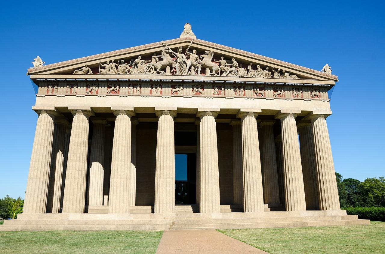 Replica of the Parthenon