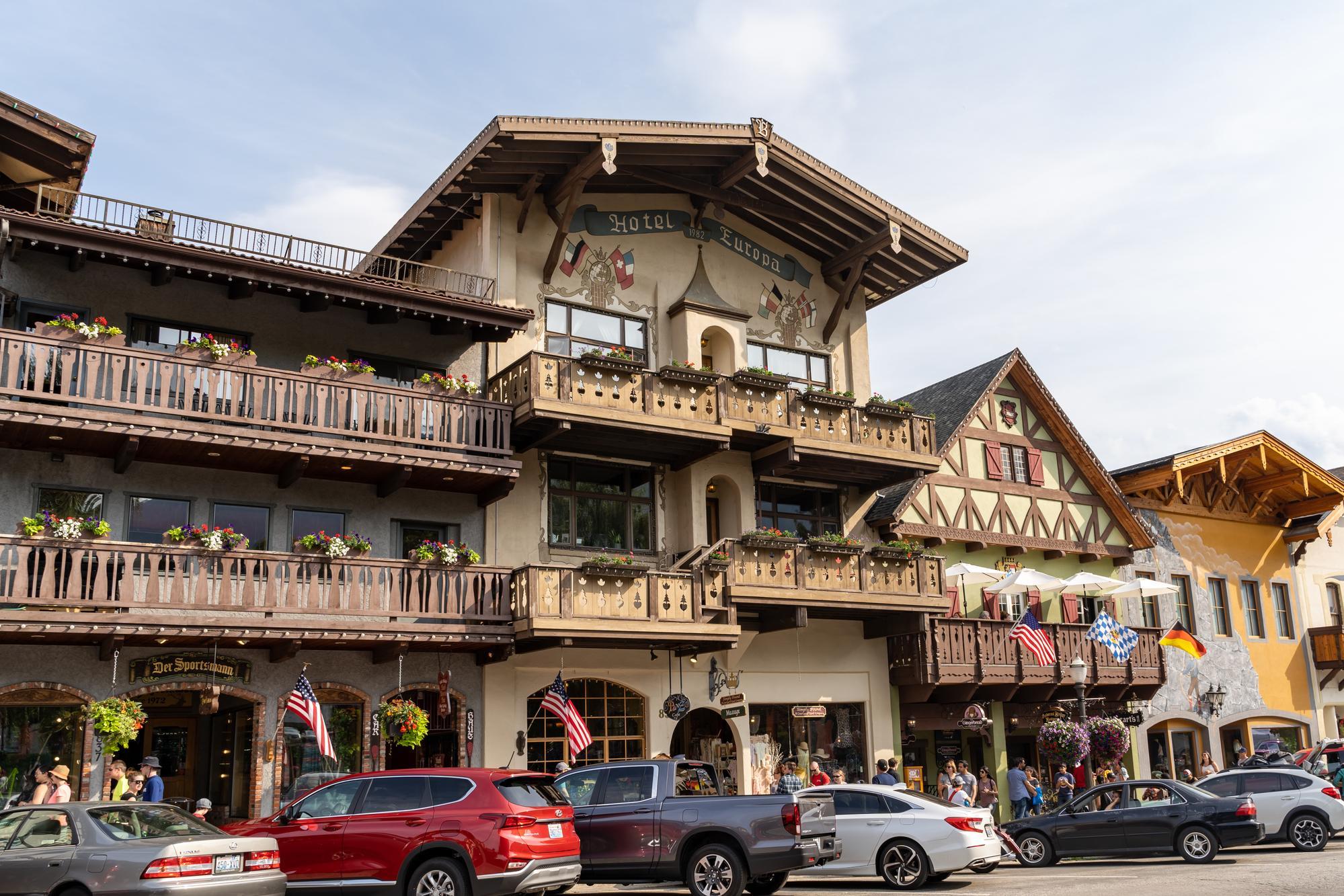 Bavarian style hotel